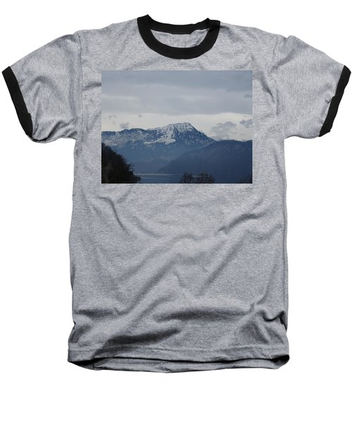 View From My Art Studio - Stanserhorn - March 2018 Baseball T-Shirt