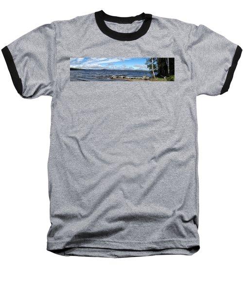 View From My Beach Baseball T-Shirt