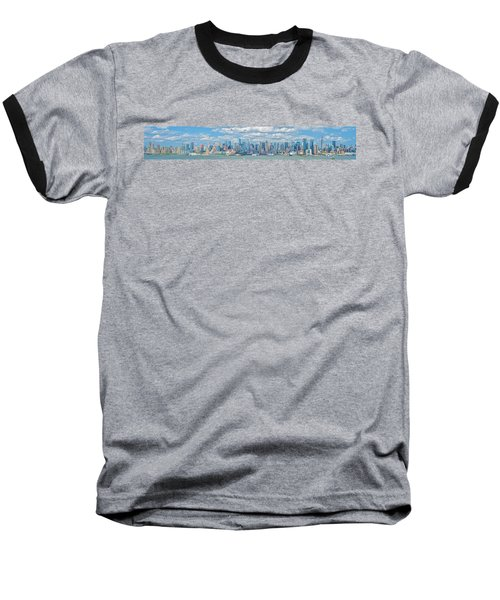Baseball T-Shirt featuring the photograph View From New Jersey 2 by Theodore Jones