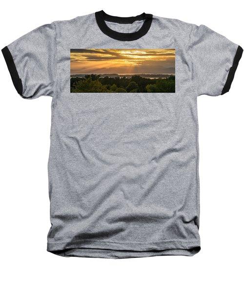 View From Overlook Park Baseball T-Shirt by Craig Szymanski