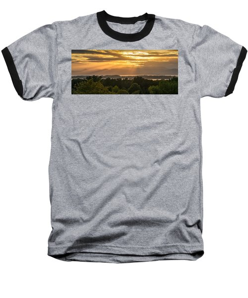 View From Overlook Park Baseball T-Shirt