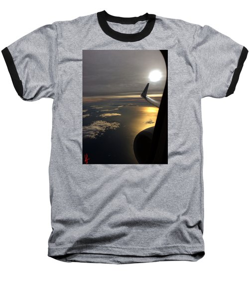 View From Plane  Baseball T-Shirt