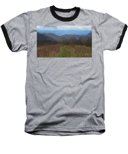 View From Silers Bald 2015a Baseball T-Shirt