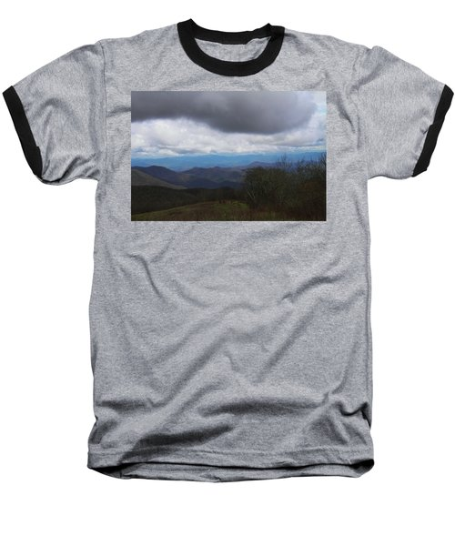 View From Silers Bald 2015b Baseball T-Shirt