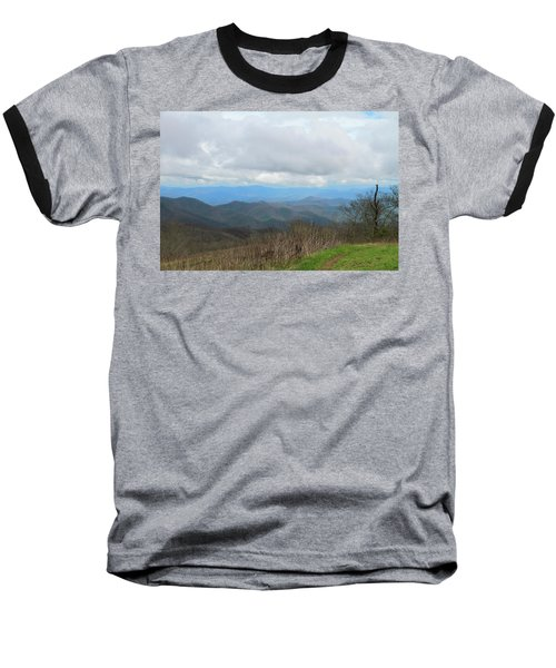 View From Silers Bald 2015d Baseball T-Shirt