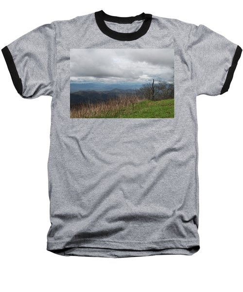 View From Silers Bald 2015e Baseball T-Shirt