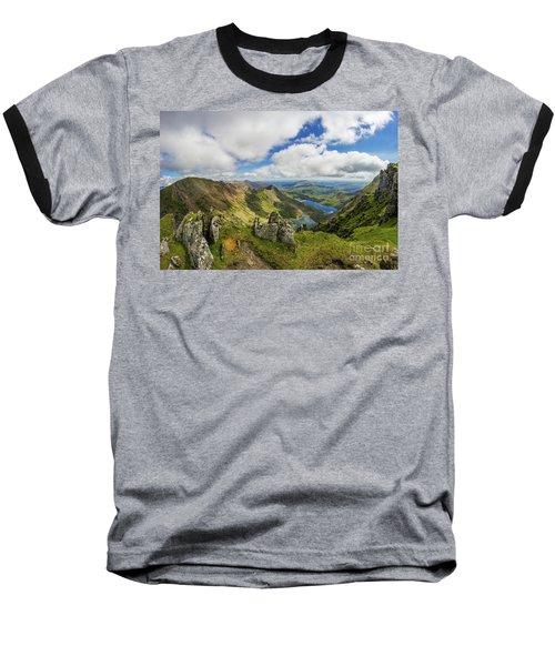 View From Snowdon Summit Baseball T-Shirt