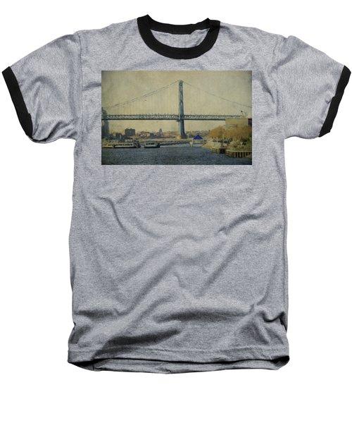 View From The Battleship Baseball T-Shirt