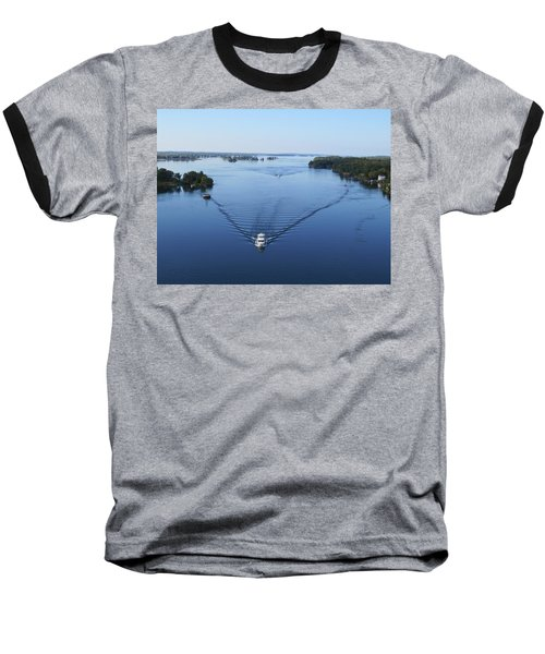 View From The Bridge Baseball T-Shirt