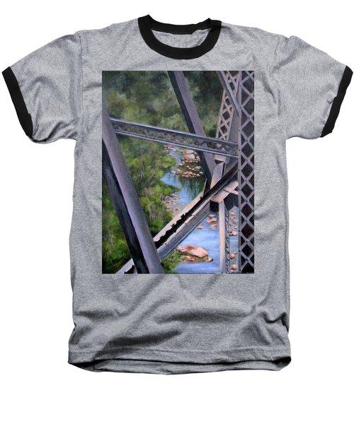 View From The Bridge--sedona, Az Baseball T-Shirt by Mary McCullah