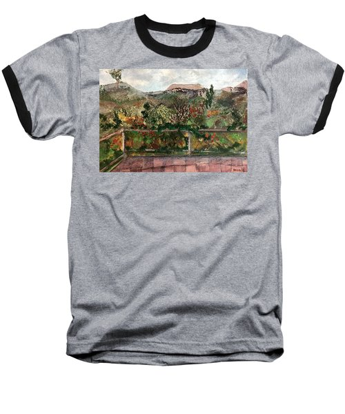 View From The Deck Baseball T-Shirt