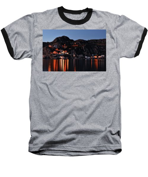 View From The Harbor St Johns Newfoundland Canada At Dusk Baseball T-Shirt