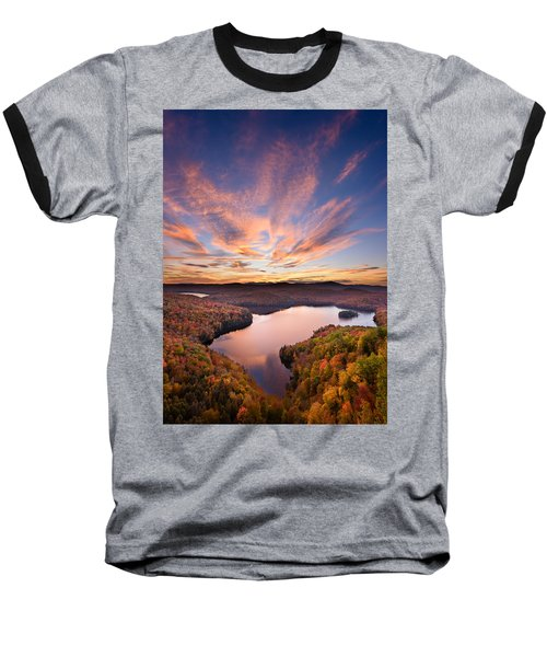 View From The Ledge Baseball T-Shirt