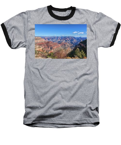 View From The South Rim Baseball T-Shirt by John M Bailey