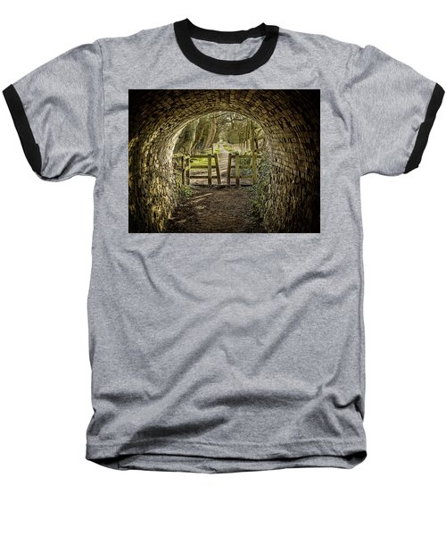 View From The Tunnel Baseball T-Shirt