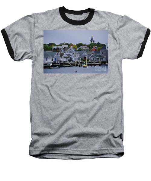 View From The Water Baseball T-Shirt