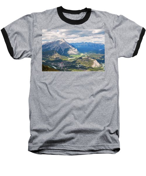 View Of Banff Baseball T-Shirt