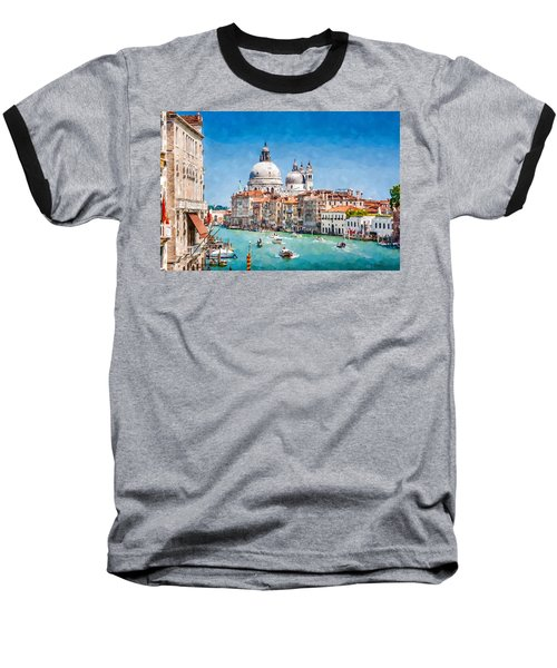 View Of Canal Grande Baseball T-Shirt by Kai Saarto