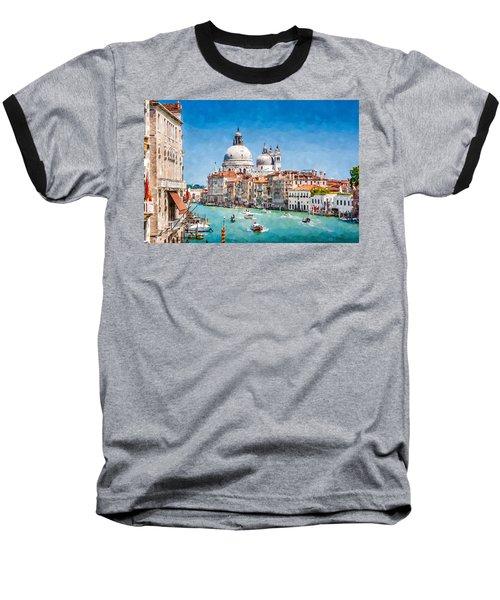 View Of Canal Grande Baseball T-Shirt