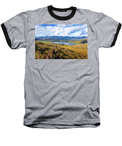 View Of Lough Acoose In Ballycullane From The Foothill Of Macgil Baseball T-Shirt by Semmick Photo