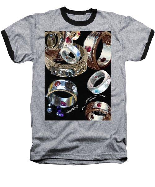 View Of Rings Baseball T-Shirt