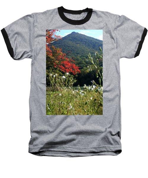View Of Sharp Top In Autumn Baseball T-Shirt