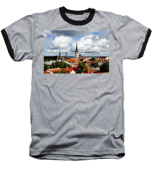 View Of St Olav's Church Baseball T-Shirt