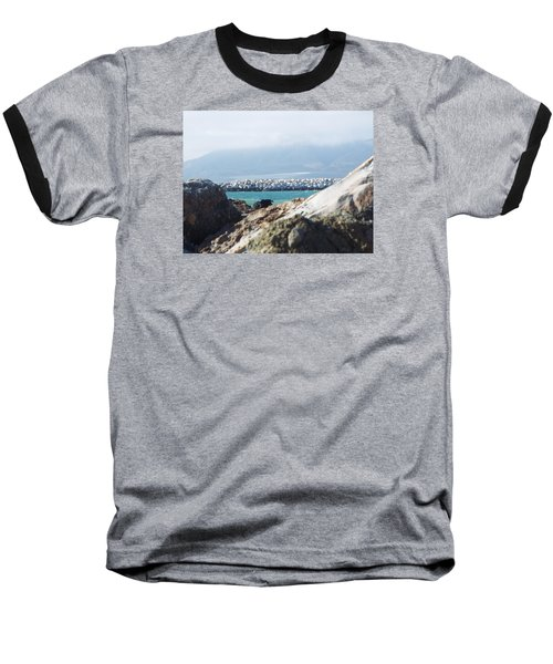 View Of The Inlet Baseball T-Shirt