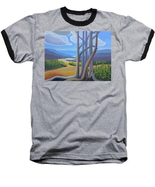 View Of The Lake Baseball T-Shirt
