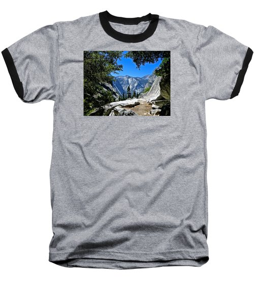 View Of The Sphinx Baseball T-Shirt by Amelia Racca