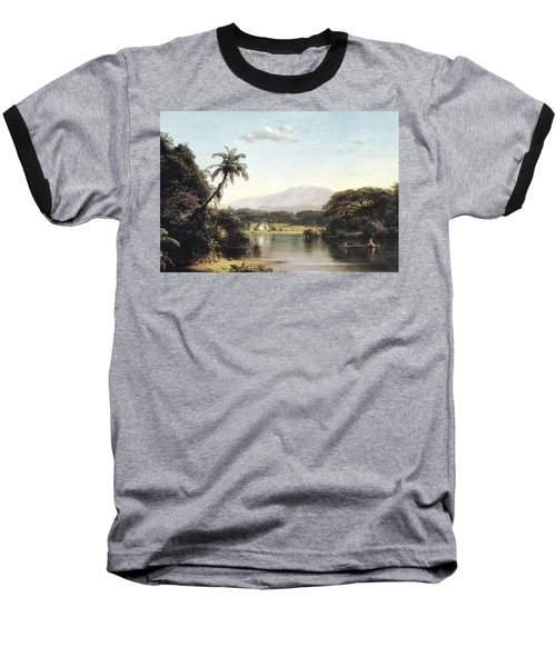 View On The Magdalena River Baseball T-Shirt