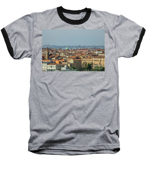 View On Venice Baseball T-Shirt by Patricia Hofmeester