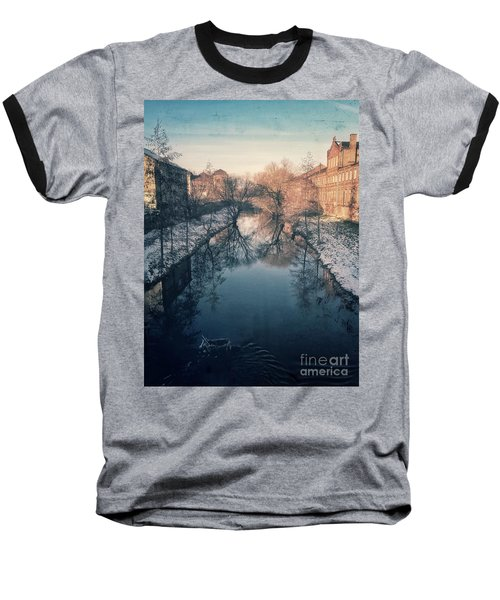 View Onto The River  Baseball T-Shirt