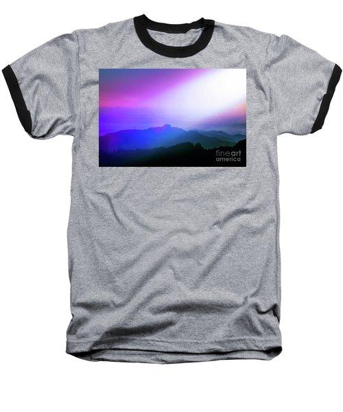Baseball T-Shirt featuring the photograph View Point by Tatsuya Atarashi