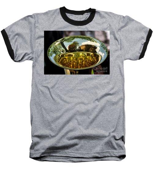 View Through A Sousaphone Baseball T-Shirt
