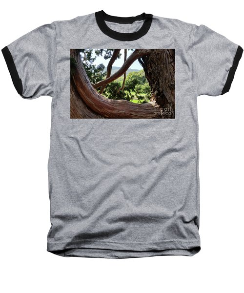 View Through The Tree Baseball T-Shirt