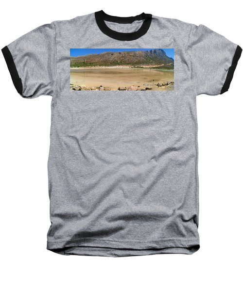 View To Gramvousa Baseball T-Shirt
