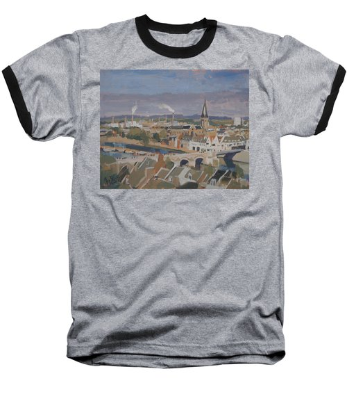 View To The East Bank Of Maastricht Baseball T-Shirt