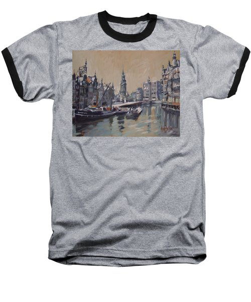 View To The Mint Tower Amsterdam Baseball T-Shirt