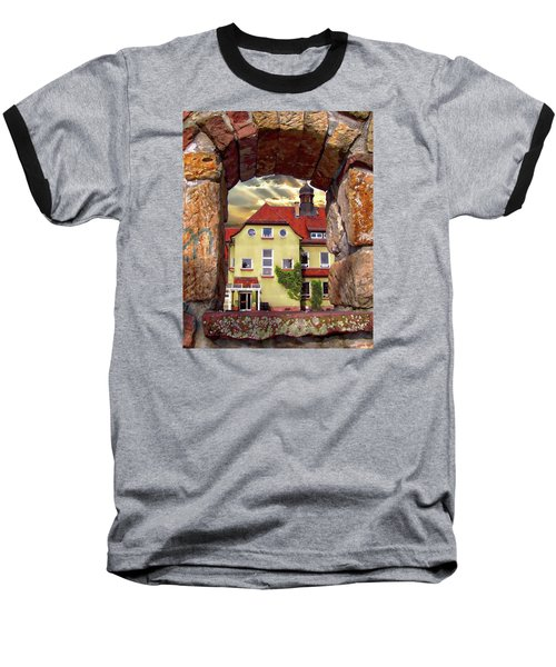 View To The Past Baseball T-Shirt