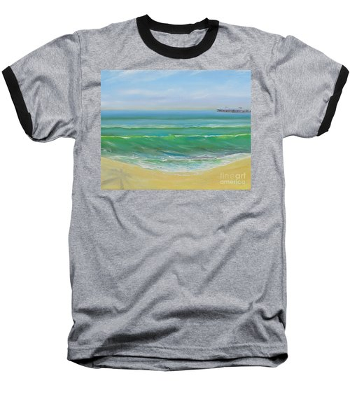 View To The Pier Baseball T-Shirt