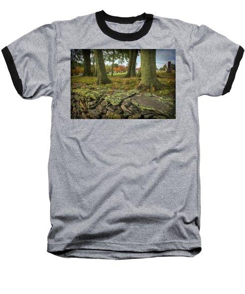 View Toward The Cemetery Baseball T-Shirt