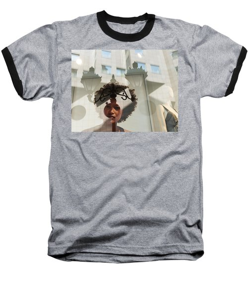 Baseball T-Shirt featuring the photograph Viewpoint by Alex Lapidus