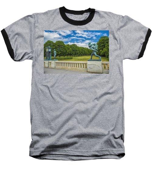 Vigeland Park Baseball T-Shirt