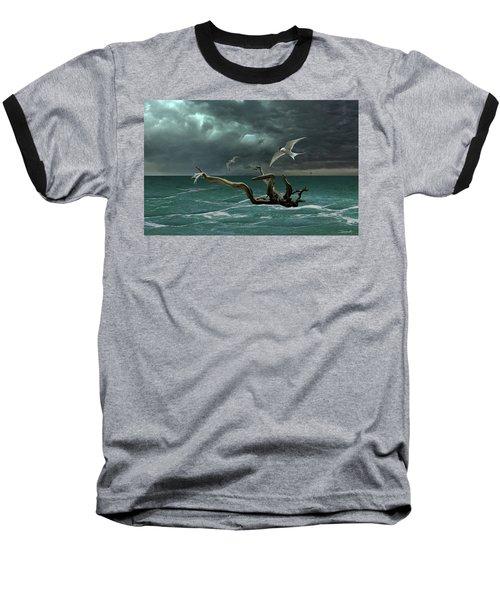 Vigil At Sea Baseball T-Shirt