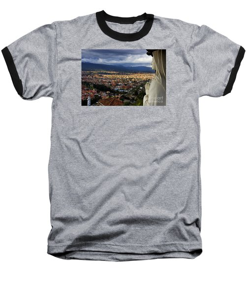 Vigil Over Cuenca From Turi Ecuador Baseball T-Shirt