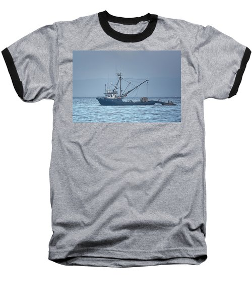 Baseball T-Shirt featuring the photograph Viking Fisher 3 by Randy Hall