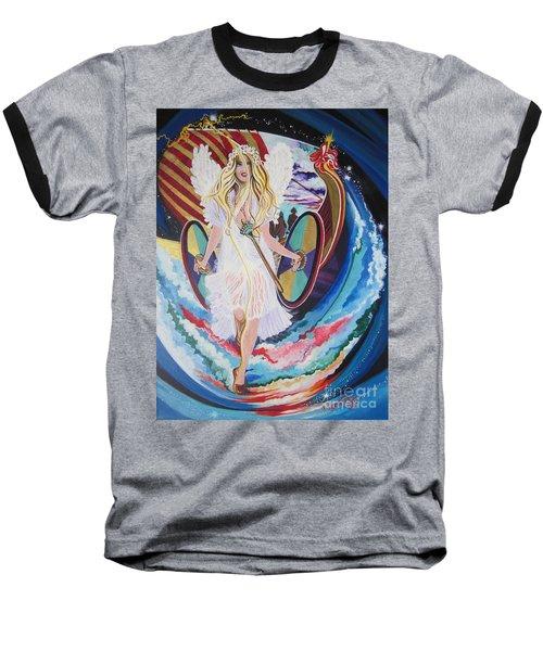 Blaa Kattproduksjoner   Welcomes Viking Goddess  To  Egypt Baseball T-Shirt
