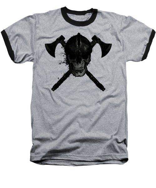 Viking Skull Baseball T-Shirt