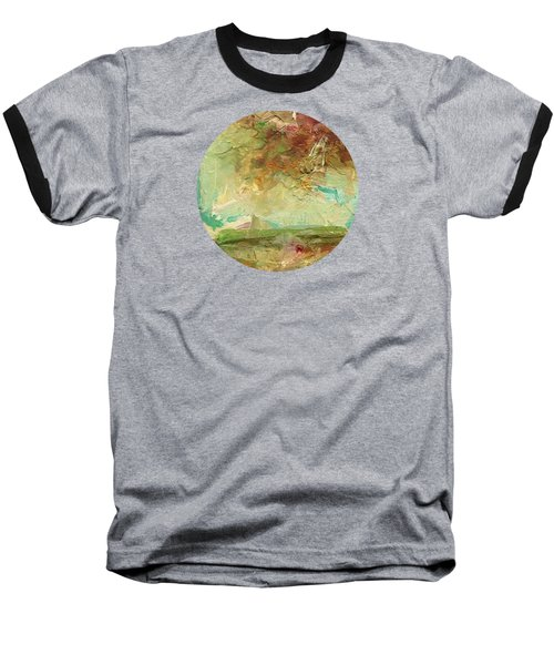 Baseball T-Shirt featuring the painting Villa by Mary Wolf